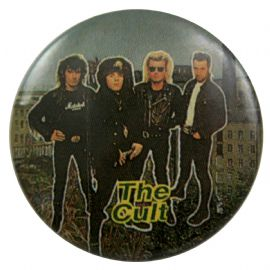 The Cult - 'Group Factory' Button Badge